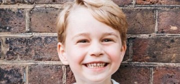 Prince George has a reserved personality, he 'takes a little while to warm up'