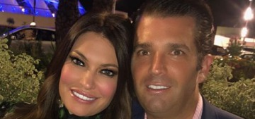 Don Trump Jr's girlfriend was fired from Fox News for being gross & foul