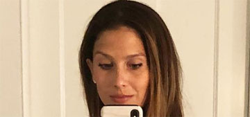 Hilaria Baldwin posted a selfie 'to inspire feeding & exercising your body right'