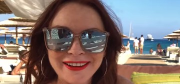 Lindsay Lohan's teaser for MTV reality show 'Lohan Beach Club' drops