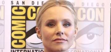 Kristen Bell's reason for wearing gloves in the pool is not what I assumed