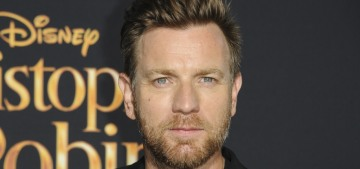 Ewan McGregor hopes his family film will make you forget about a lot of stuff