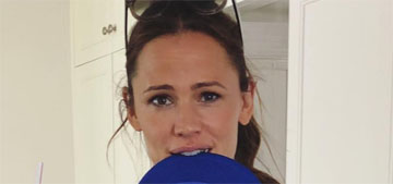 Jennifer Garner's latest Instagram is highly relatable and not mom-specific, props
