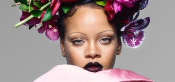 Rihanna is the first black woman to ever cover British Vogue's September issue