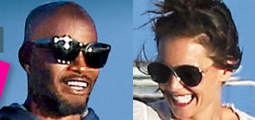 Katie Holmes and Jamie Foxx cover US with exclusive photos for some reason