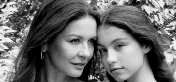 Catherine Zeta Jones is trying to nepotize her 15-year-old daughter Carys
