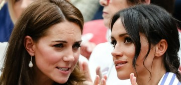 People: Duchess Kate & the Queen are Duchess Meghan's 'closest friends'