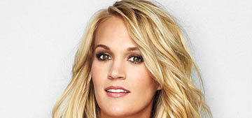 Carrie Underwood: 'Nobody else looks at you as much as you think they do'