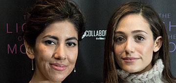Emmy Rossum & Stephanie Beatriz respond to Kim K calling anorexia a compliment