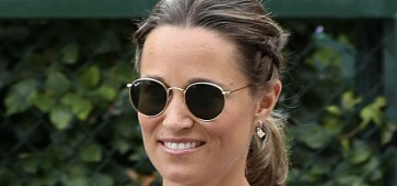 Pippa Middleton sounds robotic & medical when offering pregnancy fitness tips