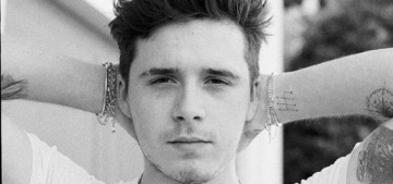 Brooklyn Beckham is working for his mom as her label's new photographer