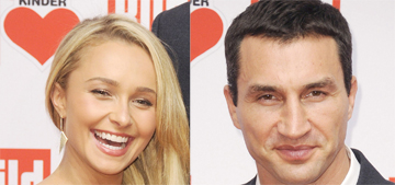 Hayden Panettiere & Wladimir Klitschko split, she was spotted with another guy
