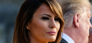 Melania Trump isn't 'taking sides' in the 'war' between her husband & LeBron James