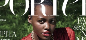 Lupita Nyong'o: 'Natural, African, kinky hair…it's often been painted as uncivilized or wild'
