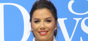 Eva Longoria: being at work away from newborn 'probably the most difficult thing'