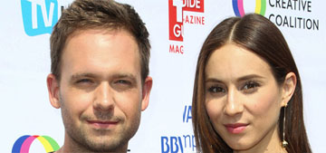 Troian Bellisario is expecting her first child with Patrick J. Adams