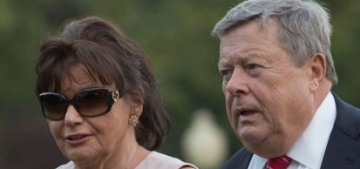 Melania Trump's  parents just became naturalized citizens, but it's fine, they're white