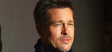 Brad Pitt's team is going on & on about how Angelina Jolie is not broke…?