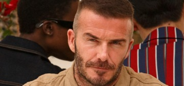 David Beckham reluctantly agreed to appear on the British Vogue cover with his wife