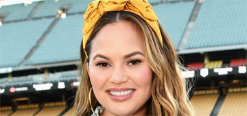 Chrissy Teigen is not promoting anything with her headbands of the day