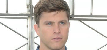 Colin Jost laments a time when awards went to big, fun, popular films