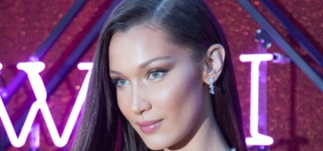 Bella Hadid's hair goals involve a pixie cut, more bangs, going blonde & 'a long weave'