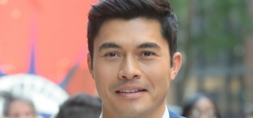 """Please give Henry Golding all the kittens to cuddle from now on"" links"