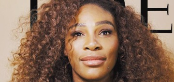 Serena Williams covers Time Mag: 'I always assumed I'd marry a black guy'