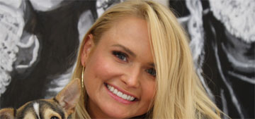 Miranda Lambert currently owns eight dogs, has fostered 38