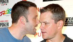 Matt Damon and Ben Affleck Ante Up For Africa