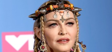 Madonna 'paid tribute' to Aretha Franklin at the VMAs by talking about herself