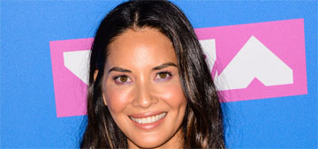 Olivia Munn in a David Koma column dress at the VMAs: perfect or boring?