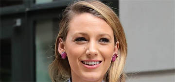 Blake Lively's recent autumnal pantsuit parade: fun or bizarre?