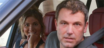 Is Ben Affleck acting out because Jennifer Garner's career is going so well?
