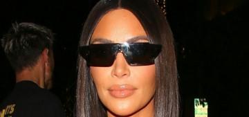Kim Kardashian lost 20 lbs by cutting back sugar & lifting heavy weights every day