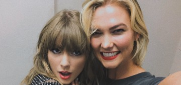 Karlie Kloss did a selfie with Taylor Swift at her Nashville concert: what happened?