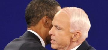 John McCain called Barack Obama in April & asked him to speak at his memorial