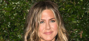 Jennifer Aniston's trainer: 'She's a very good, natural athlete'