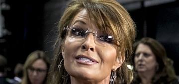 Malfunctioning fembot Sarah Palin was not invited to John McCain's funeral