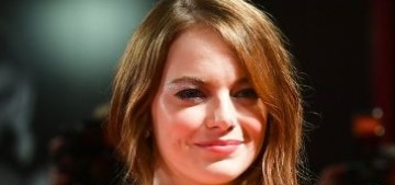 Emma Stone in Louis Vuitton at the Venice Film Festival: stunning or meh?