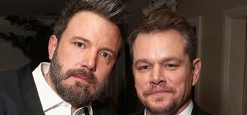 People: Matt Damon 'will always be there' for Ben Affleck but Matt's got a lot on his plate