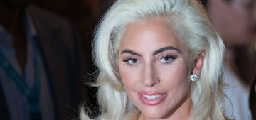 Lady Gaga & Bradley Cooper got glam for the 'Star is Born' Venice photocall