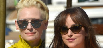 Dakota Johnson & Tilda Swinton brought the fashion drama to Venice