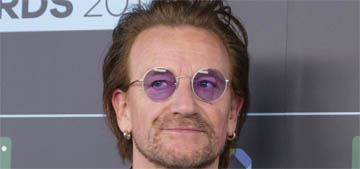 Bono lost his voice during a concert in Berlin and had to stop the show
