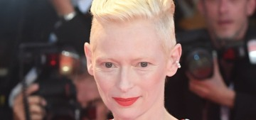 Tilda Swinton's Schiaparelli gown had sleeve-gloves: love it or hate it?