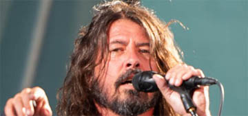 Dave Grohl lost his voice 'That's the last time I ever make out with Bono'