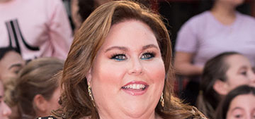 Chrissy Metz sleeps with her feet at the head of her bed, loves making forts