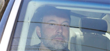 Ben Affleck stopped home from rehab after 2 weeks, Shauna's car was at his house