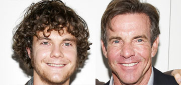 Dennis Quaid on his son with Meg Ryan: 'We didn't let him be a child actor'