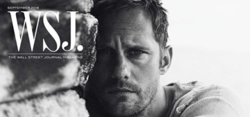 Alex Skarsgard tells WSJ. Magazine about his favorite pagan holiday, Midsommar